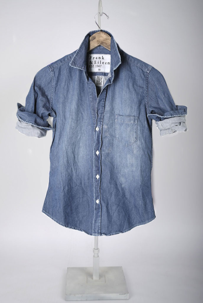 The Barry Shirt - Super Faded Denim Wash